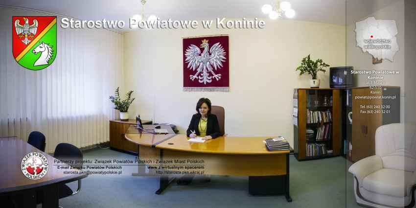 Prezentacja panoramiczna dla obiektu Starostwo Powiatowe w Koninie