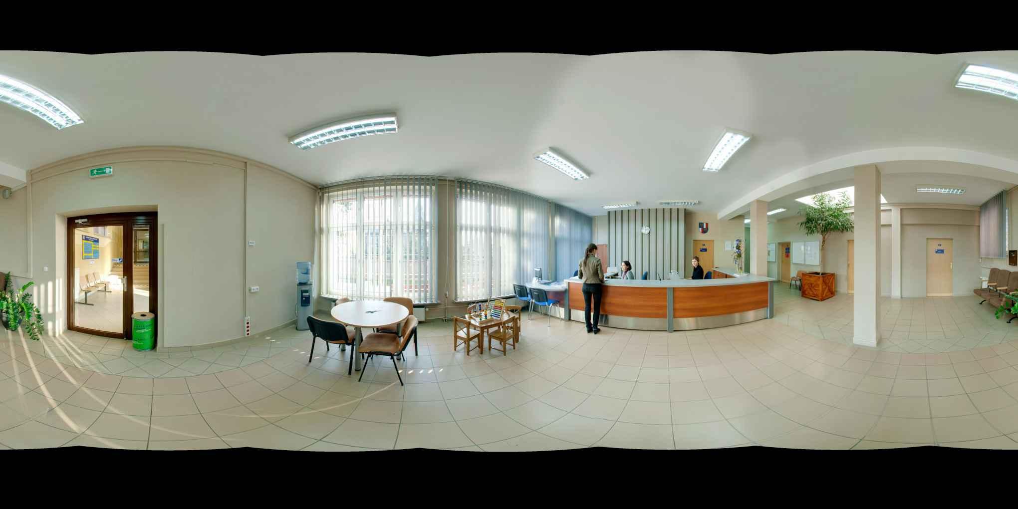 Prezentacja panoramiczna dla obiektu Starostwo Powiatowe w Raciborzu