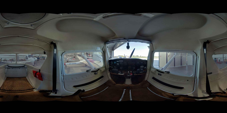 Prezentacja panoramiczna dla obiektu Aeroklub Ziemi Zamojskiej