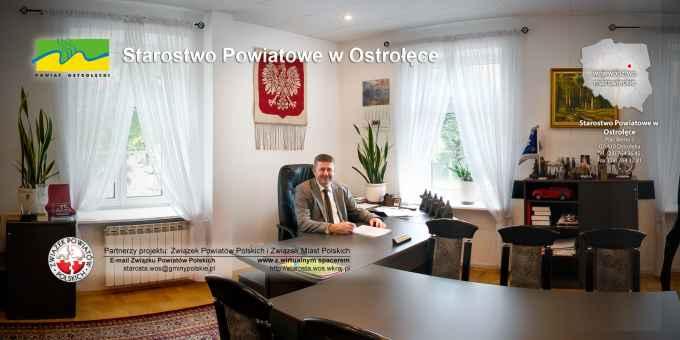 Prezentacja panoramiczna dla obiektu Starostwo Powiatowe w Ostrołęce