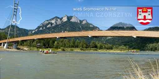 Prezentacja panoramiczna dla obiektu wieś SROMOWCE NIŻNE