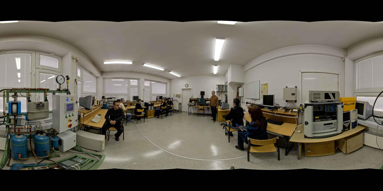 Prezentacja panoramiczna dla obiektu Wydział Inżynierii Środowiska Politechnika Krakowska