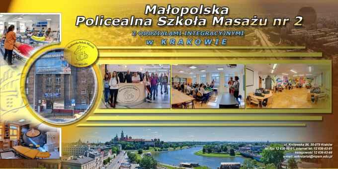 Prezentacja panoramiczna dla obiektu Szkoła Policealna Integracyjna Masażu Leczniczego Nr 2 w Krakowie