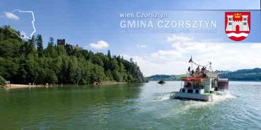Prezentacja panoramiczna dla obiektu wieś CZORSZTYN