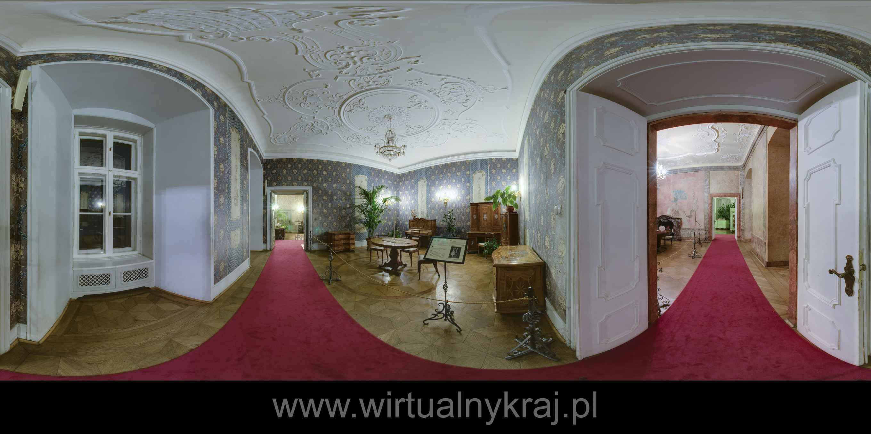 Prezentacja panoramiczna dla obiektu ZAMEK KSIĄŻ w Wałbrzychu