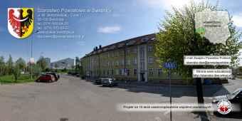 Prezentacja panoramiczna dla obiektu Starostwo Powiatowe w Świdnicy