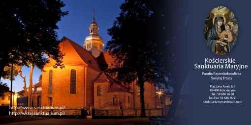 Prezentacja panoramiczna dla obiektu Kościerskie Sanktuaria Maryjne