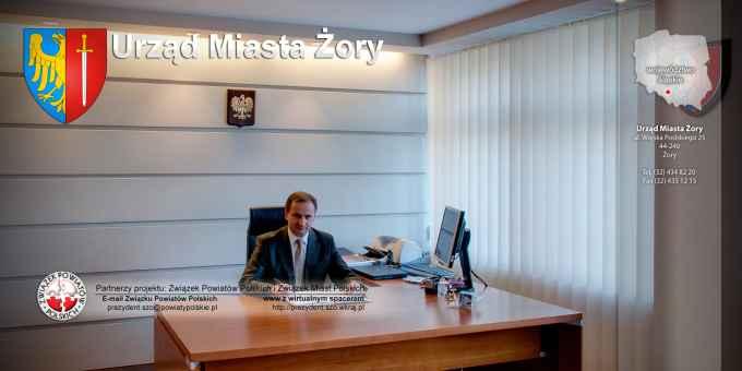 Prezentacja panoramiczna dla obiektu Urząd Miasta Żory