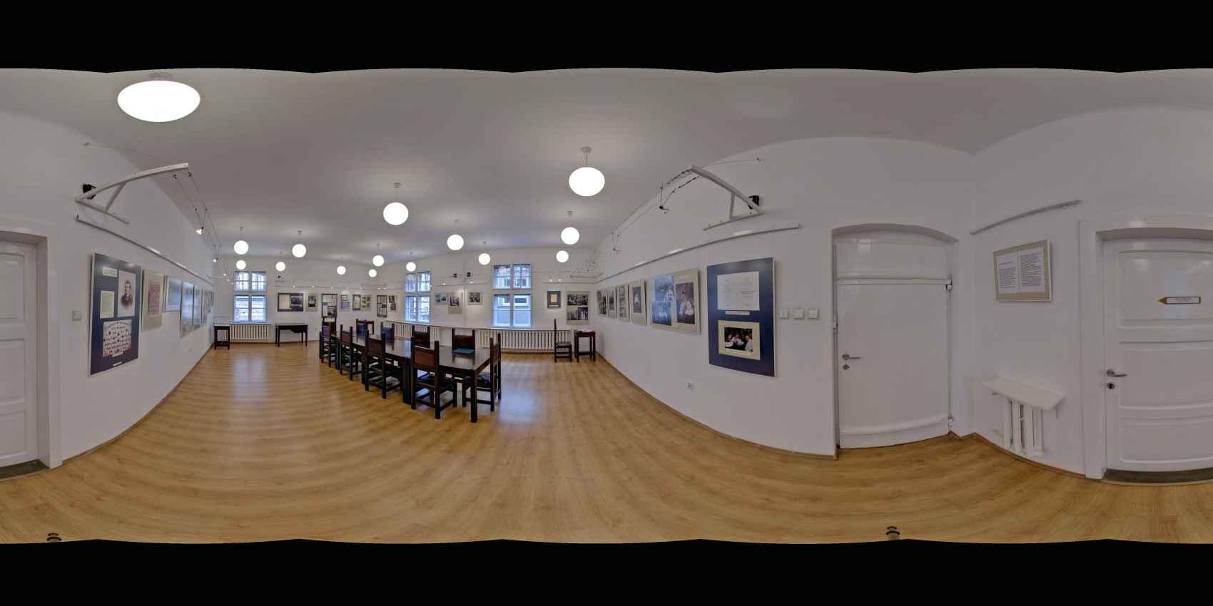 Prezentacja panoramiczna dla obiektu Muzeum Politechniki Krakowskiej