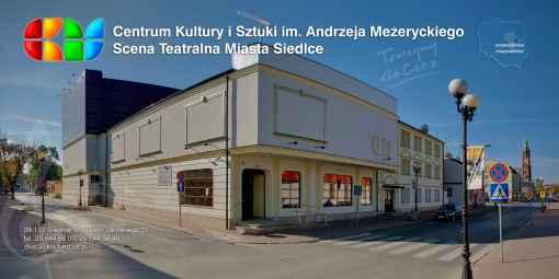 Prezentacja panoramiczna dla obiektu Centrum Kultury i Sztuki w Siedlcach