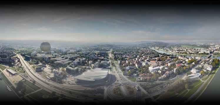 Prezentacja panoramiczna dla obiektu Radio PLUS Kraków / Podhale