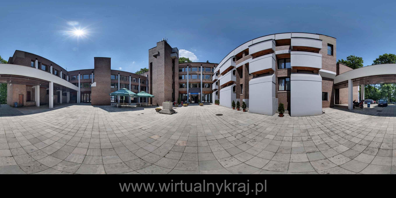 Prezentacja panoramiczna dla obiektu Dom gościnny Uniwersytetu Jagiellońskiego w Przegorzałach