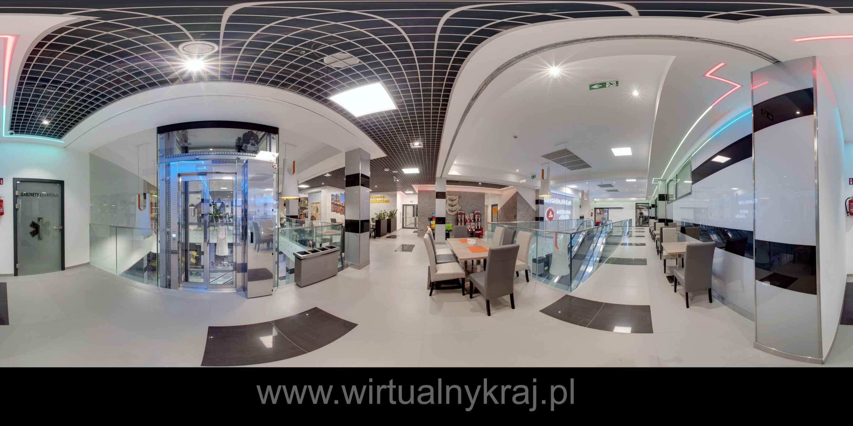 Prezentacja panoramiczna dla obiektu Galeria Jordanowska