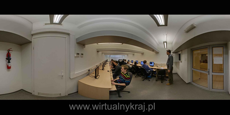 Prezentacja panoramiczna dla obiektu Wydział Fizyki i Informatyki Stosowanej