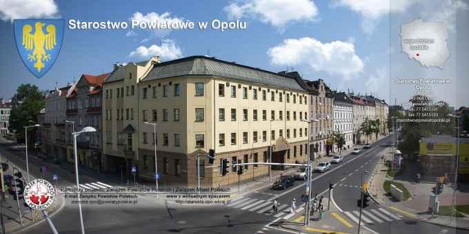 Prezentacja panoramiczna dla obiektu Starostwo Powiatowe w Opolu