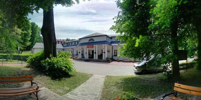 Prezentacja panoramiczna dla obiektu  Samodzielne Publiczne Sanatorium Rehabilitacyjne im. Janusza Korczaka w Krasnobrodzie