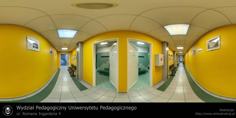 Prezentacja panoramiczna dla obiektu Centrum Sportu i Rekreacji Uniwersytetu Pedagogicznego