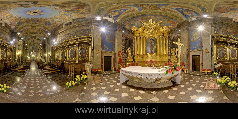 Prezentacja panoramiczna dla obiektu Bazylika Katedralna Wniebowzięcia NMP w Kielcach