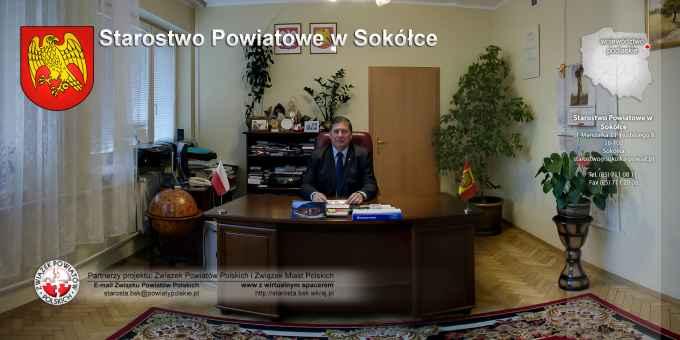 Prezentacja panoramiczna dla obiektu Starostwo Powiatowe w Sokółce