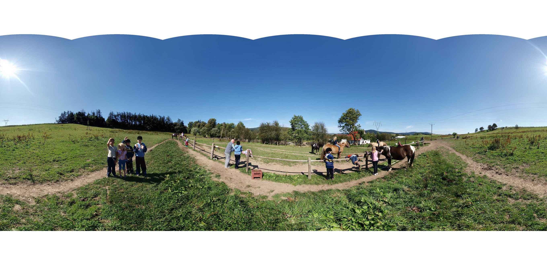 Prezentacja panoramiczna dla obiektu wieś DĘBRZNIK