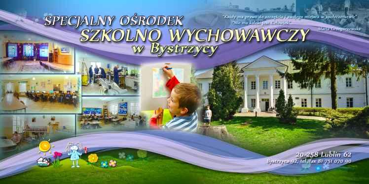 Prezentacja panoramiczna dla obiektu Specjalny Ośrodek Szkolno-Wychowawczy w Bystrzycy