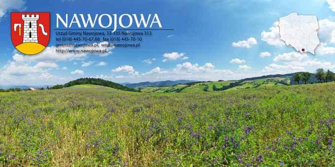 Prezentacja panoramiczna dla obiektu gmina NAWOJOWA