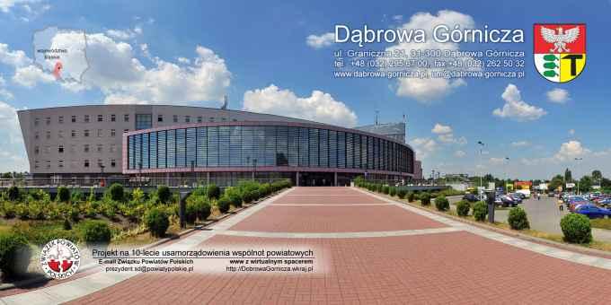 Prezentacja panoramiczna dla obiektu Urząd Miasta w Dąbrowie Górniczej