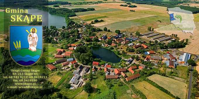 Prezentacja panoramiczna dla obiektu gmina Skąpe