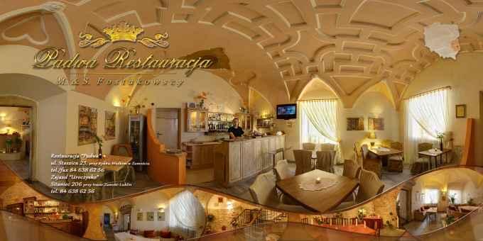 """Prezentacja panoramiczna dla obiektu Restauracja """"Padwa"""""""