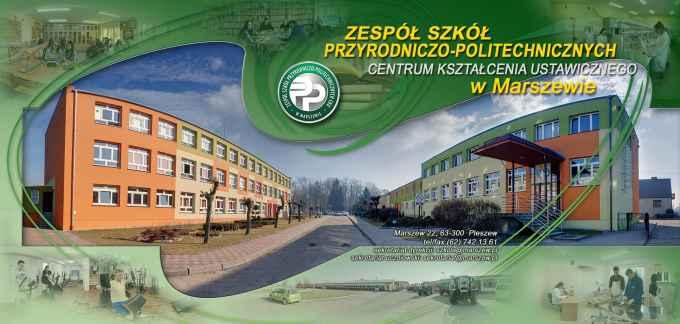 Prezentacja panoramiczna dla obiektu Zespół Szkół Przyrodniczo-Politechnicznych w Marszewie