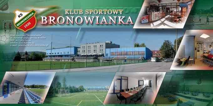 Prezentacja panoramiczna dla obiektu Klub Sportowy BRONOWIANKA
