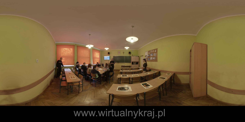 Prezentacja panoramiczna dla obiektu Zespół Szkół Rolniczych im. gen. Józefa Wybickiego w Grabonogu