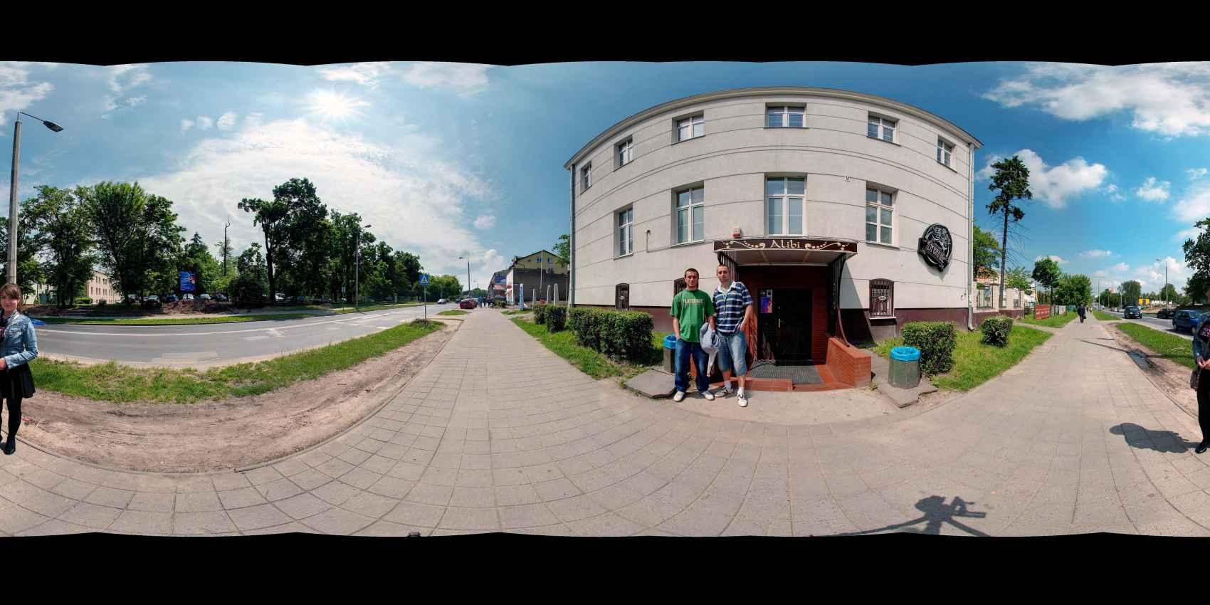 Prezentacja panoramiczna dla obiektu Uniwersytet Technologiczno-Humanistyczny im. K. Pułaskiego w Radomiu