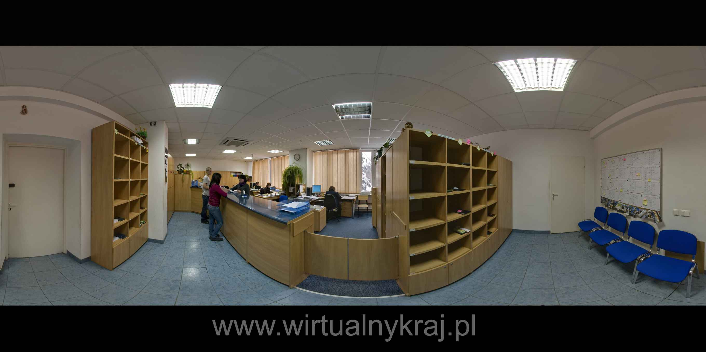 Prezentacja panoramiczna dla obiektu Wydział Fizyki i Informatyki Stosowanej AGH