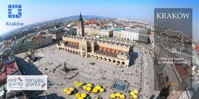 Prezentacja panoramiczna dla obiektu miasto KRAKÓW