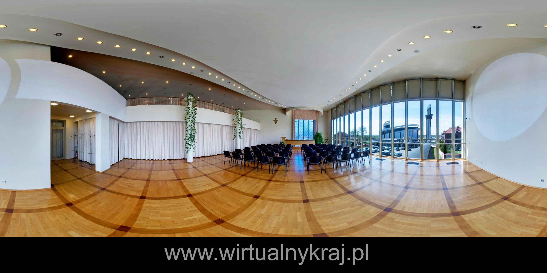 Prezentacja panoramiczna dla obiektu Dom Duszpasterski w Krakowie - Łagiewnikach