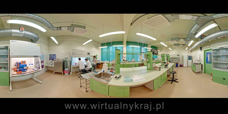 Prezentacja panoramiczna dla obiektu Kompleks Nauk Biologicznych Uniwersytetu Jagiellońskiego