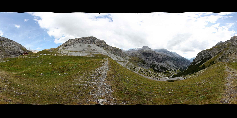 Prezentacja panoramiczna dla obiektu Davos-Stelvio Pass