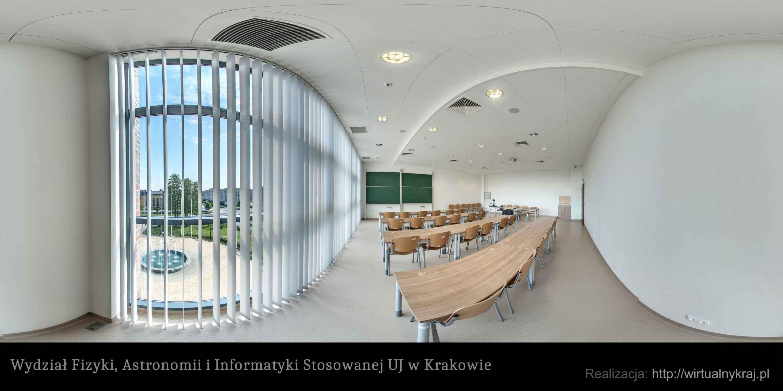 Prezentacja panoramiczna dla obiektu Wydział Fizyki, Astronomii i Informatyki Stosowanej UJ