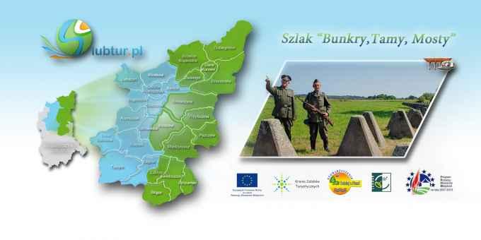 """Prezentacja panoramiczna dla obiektu Szlak """"Bunkry,Tamy, Mosty"""""""
