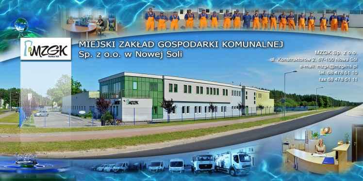Prezentacja panoramiczna dla obiektu MZGK Nowa Sól