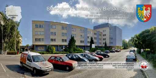 Prezentacja panoramiczna dla obiektu Starostwo Powiatowe w Bielsku Białej