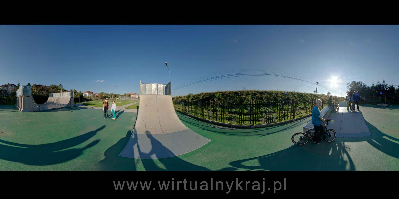 Prezentacja panoramiczna dla obiektu Centrum Sportu, Turystyki i Rekreacji w Strzyżowie