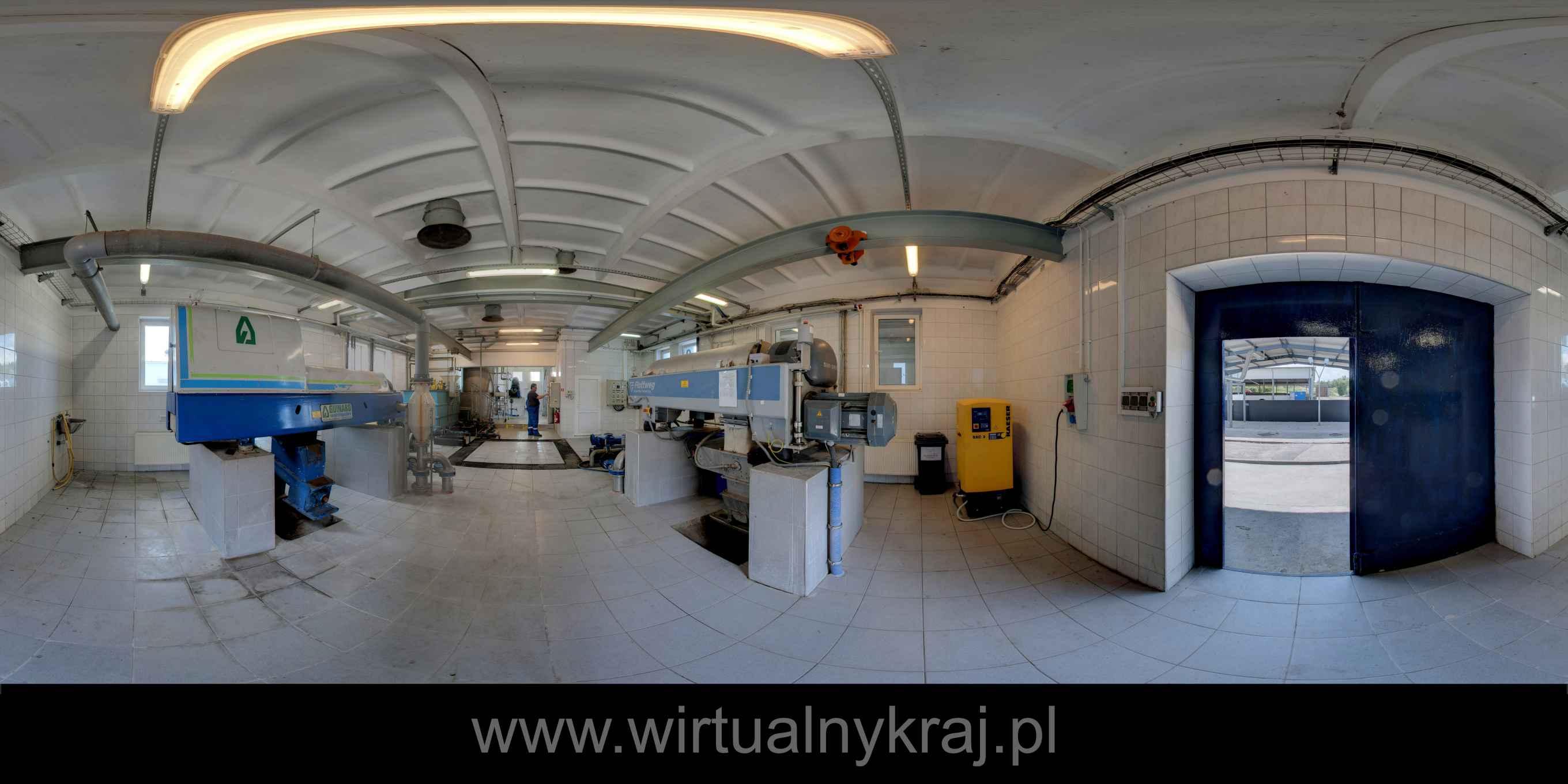 Prezentacja panoramiczna dla obiektu Wodociągi Słupsk