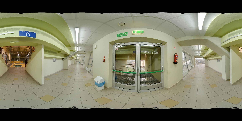 Prezentacja panoramiczna dla obiektu nr. 15  - Zespół Obiektów Sportowych - Wielofunkcyjna Hala Sportowa - MOSiR