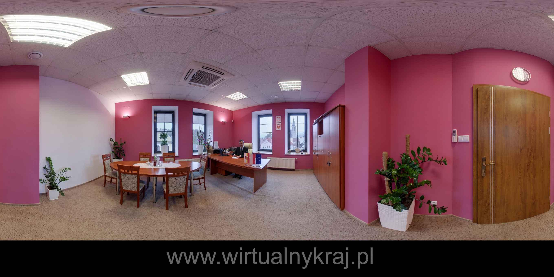 Prezentacja panoramiczna dla obiektu Starostwo Powiatowe w Limanowej, ul. Józefa Marka 9