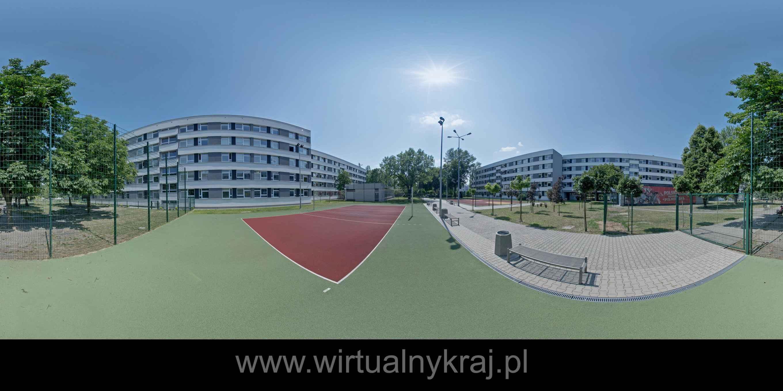 Prezentacja panoramiczna dla obiektu Boisko do koszykówki