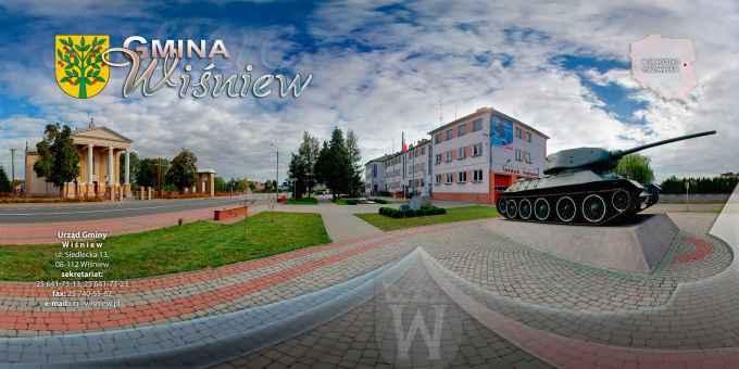 Prezentacja panoramiczna dla obiektu gmina WIŚNIEW