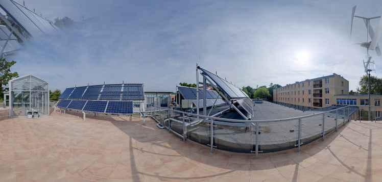 Prezentacja panoramiczna dla obiektu Mazowieckie Centrum Edukacyjne Energii Odnawialnej