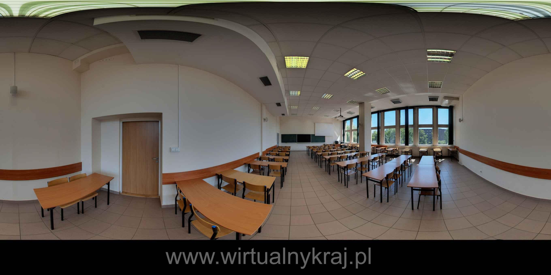 Prezentacja panoramiczna dla obiektu Uniwersytet Rolniczy w Krakowie - Wydział Inżynierii Środowiska i Geodezji